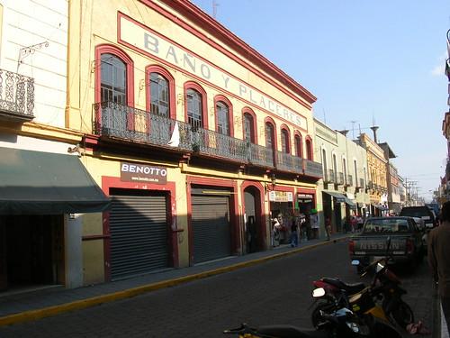 Cuetzalan por la tarde