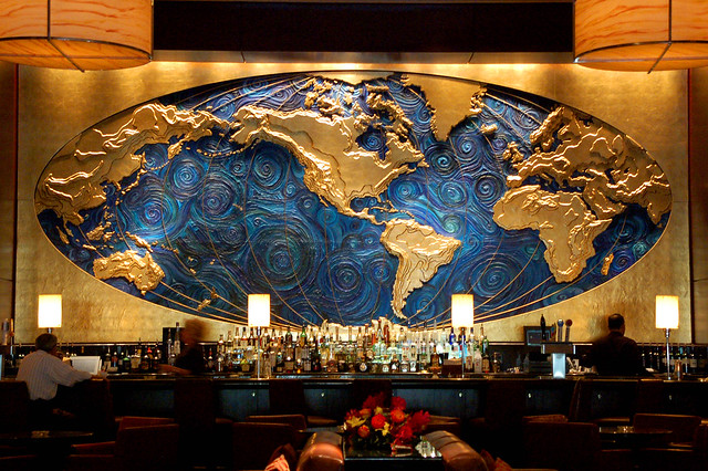 Hilton Americas World Map