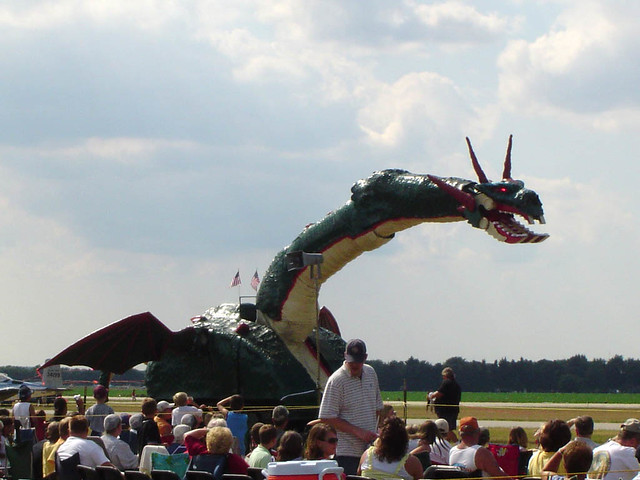 Draco the Dragonator | Lamest thing ever! The sound effects … | Flickr