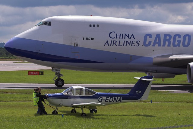 G-EDNA PA-38 Tomahawk - Manchester Airport