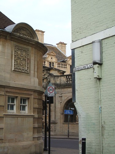 Corner of Free School Lane and Botolph Lane | by Helen Lynn