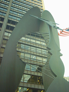 Chicago: Picasso sculpture, Richard J Daley Ctr