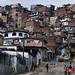 A favela on the outskirts of Salvador de Bahia