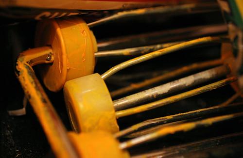 Crusty paint rollers | by Alex Rubystone