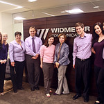 Proudly wearing our purple (and pink - Breast Cancer Awareness Month)