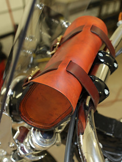 bag on dyna 2 | by Richard Phillips Leather LLC