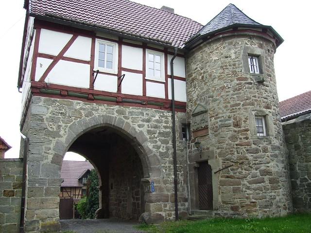 Torhaus Schloß Landau