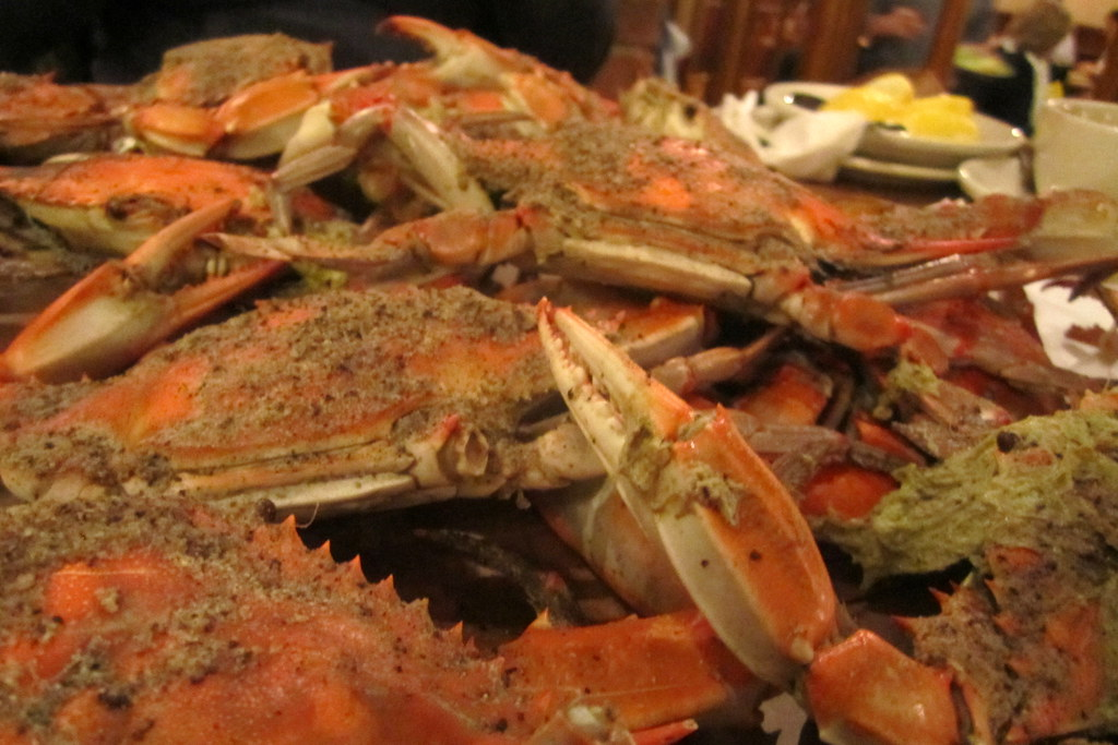 Baltimore - Fells Point: Obrycki's Crab House - Blue Claw Crabs