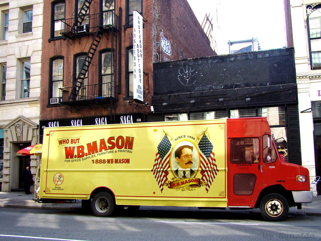 I Want My W.B.  (Photo: W.B. Mason in SoHo Historic Distric  Flickr