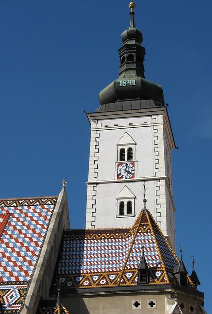 Steeple on the Church of St. Mark