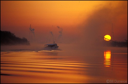 usa sunrise ga river savannah