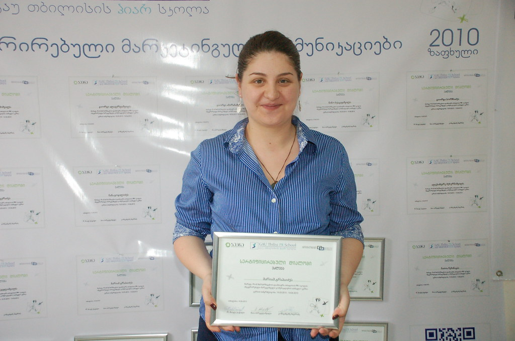 PRSchool - Graduate of PR and Integrated Marketing Communication Course, June 19, 2010