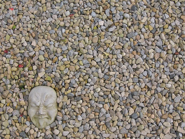 All sizes | The Face in the Gravel | Flickr - Photo Sharing!