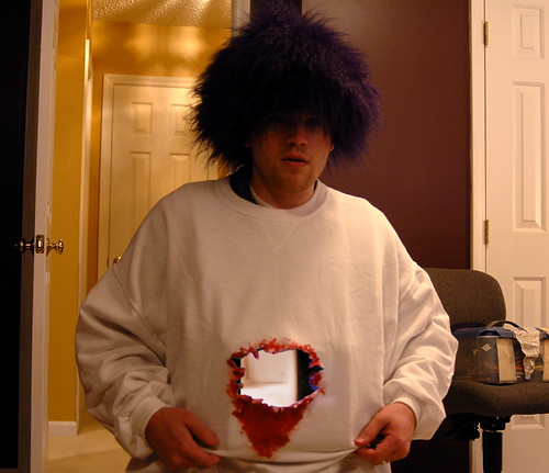 Gaping hole halloween costume | by evanbooth