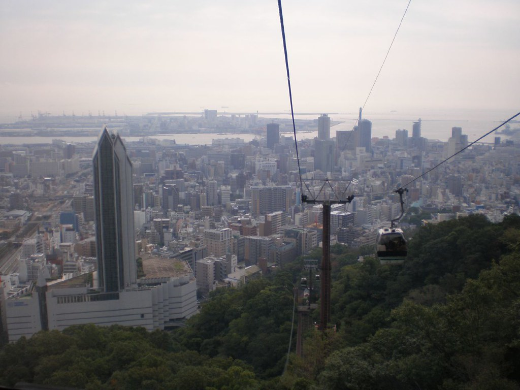 Kobe: Cable Car view | www.japan-guide.com/e/e2159.html en ...
