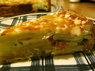 turnip cabbage quiche