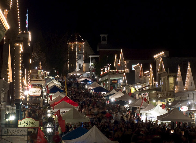 Nevada City Victorian Christmas.Nevada City Victorian Christmas It Seemed Busier This Year