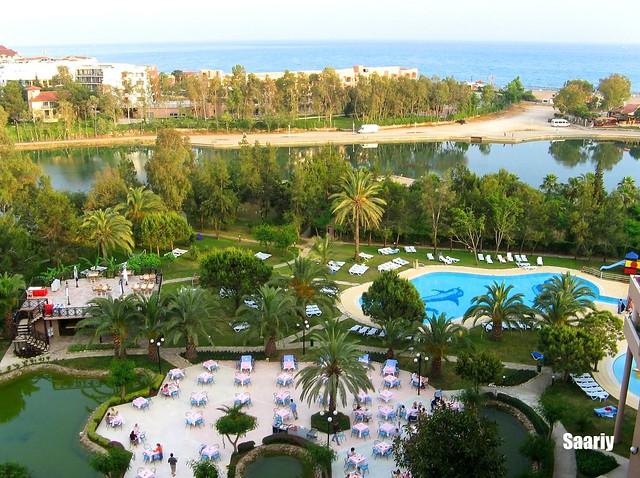 Scenery from Titreyengöl-Side-Antalya-Turkei