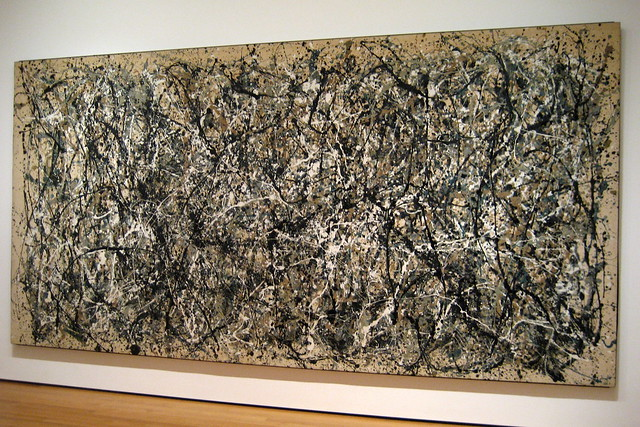 NYC - MoMA: Jackson Pollock's One: Number 31, 1950