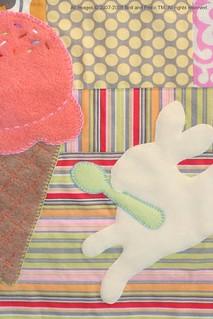 jeni's ice cream quilt— detail