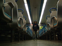 The empty train I