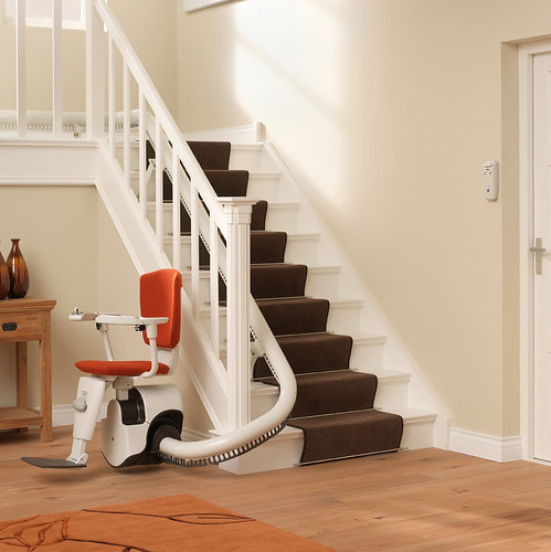 Thyssen Flow 2 Stairlift | by Multicare Mobility