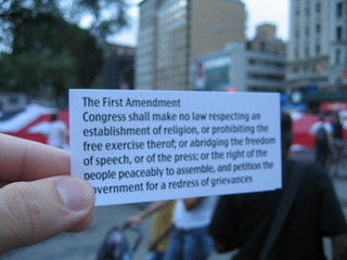 The First Amendment | by inacheapwestern