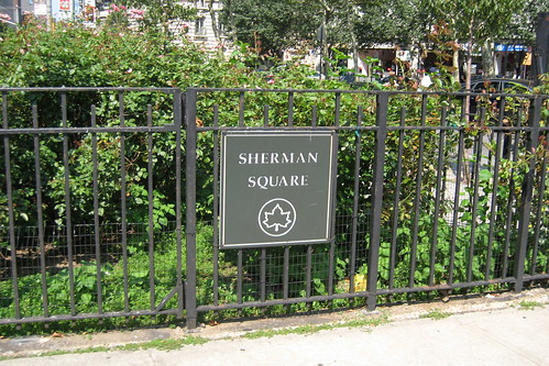 NYC - UWS: Sherman Square | by wallyg