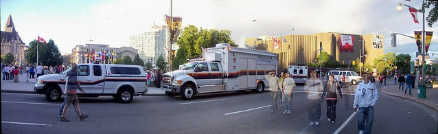 Ottawa Paramedic Service Ford vehicles...