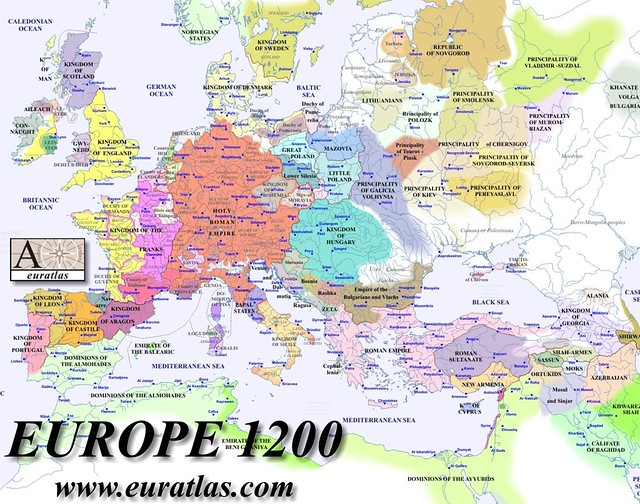 Map Of Europe Georgia.Map Of Europe 1200 Here Is The Political Map Of Europe In Flickr