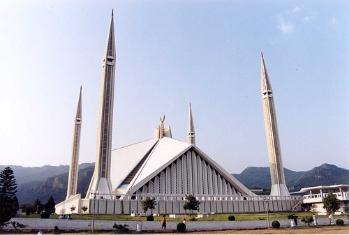 Shah Faisal Mosque - Islamabad, Pakistan, August 2001 | by iancowe