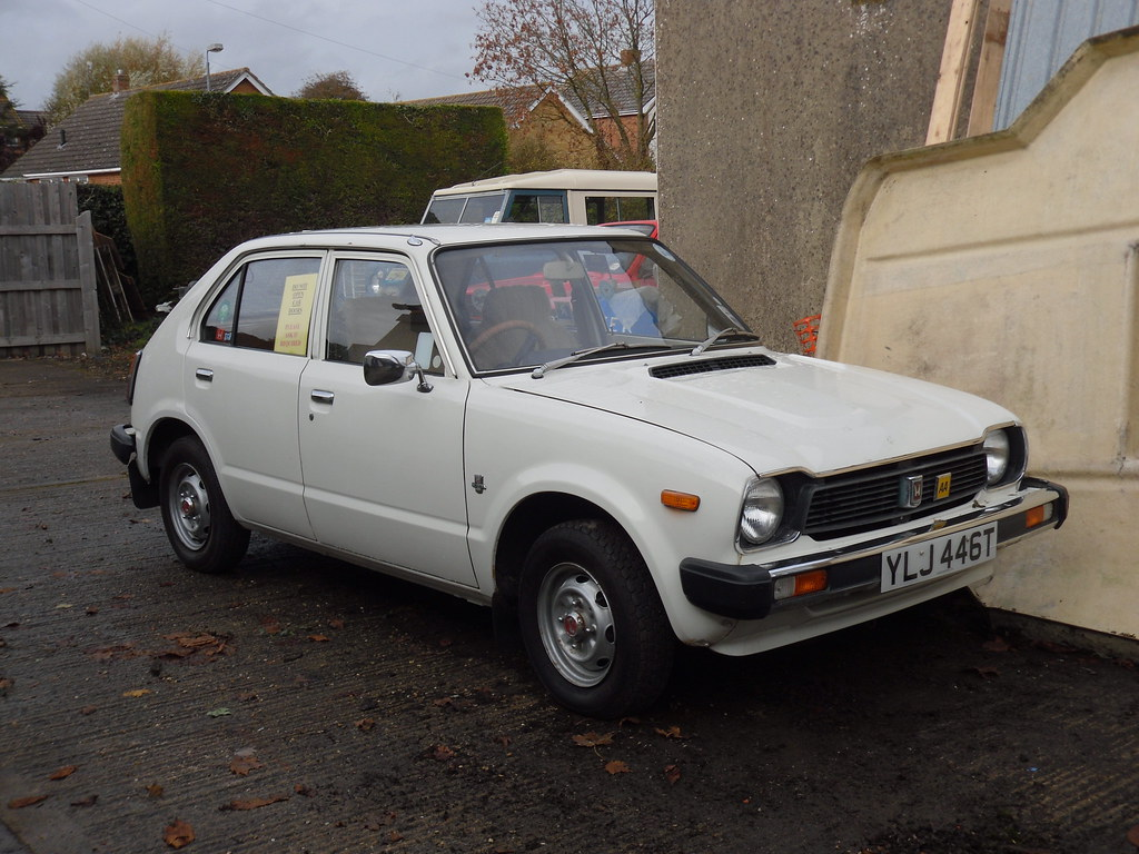 1978 Honda Civic 125 Automatic Hatchback.   Another lovely e…   Flickr