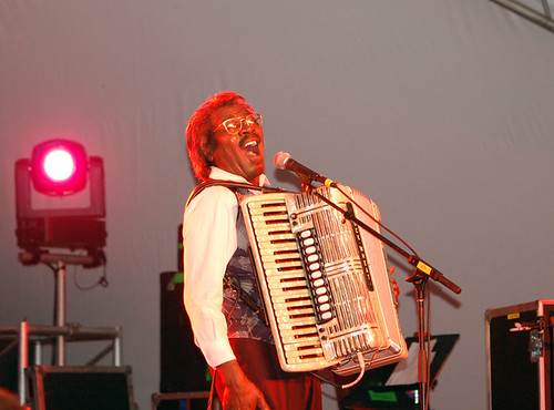 Buckwheat Zydeco hollers
