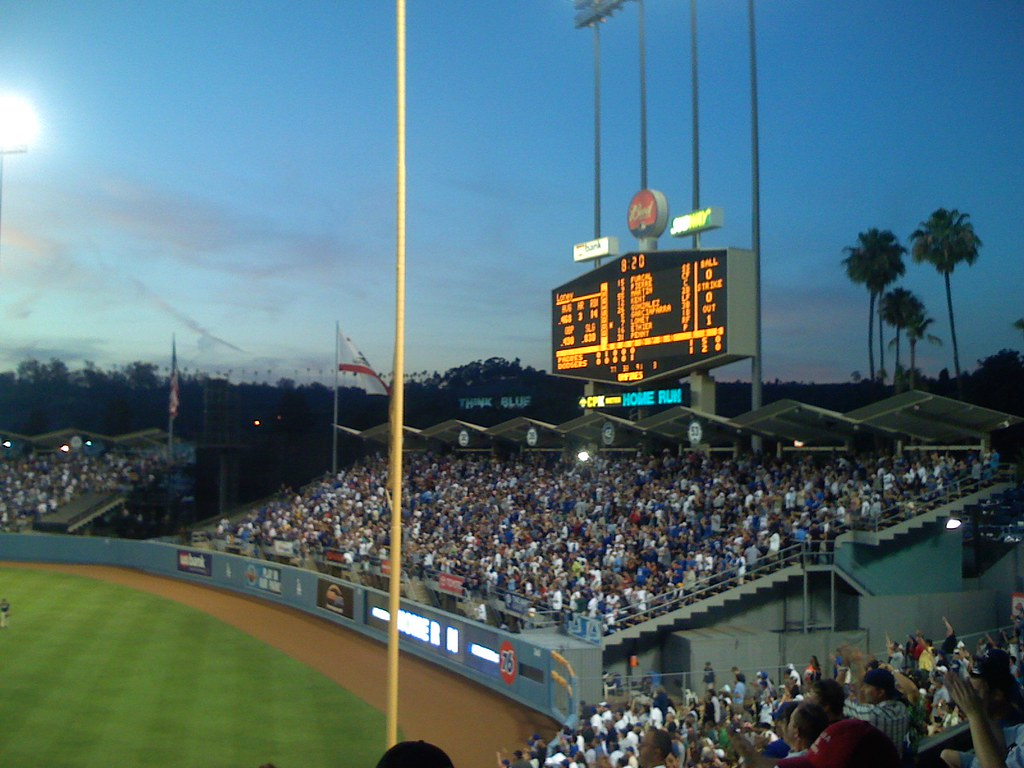 Padres vs. Dodgers - 06/30/07