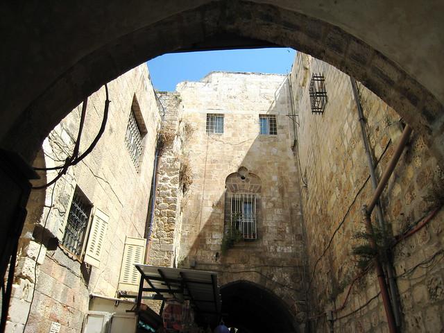Jerusalem, above the souk