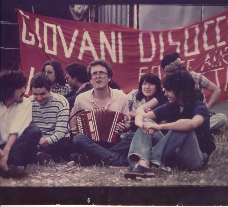 1975 manifestazione occupazione terre a Tivoli