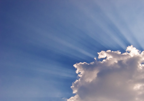 Cloud and Crepuscular Rays | by Jason Pratt