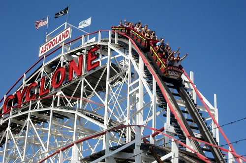 NYC - Brooklyn - Coney Island - The Cyclone | by wallyg