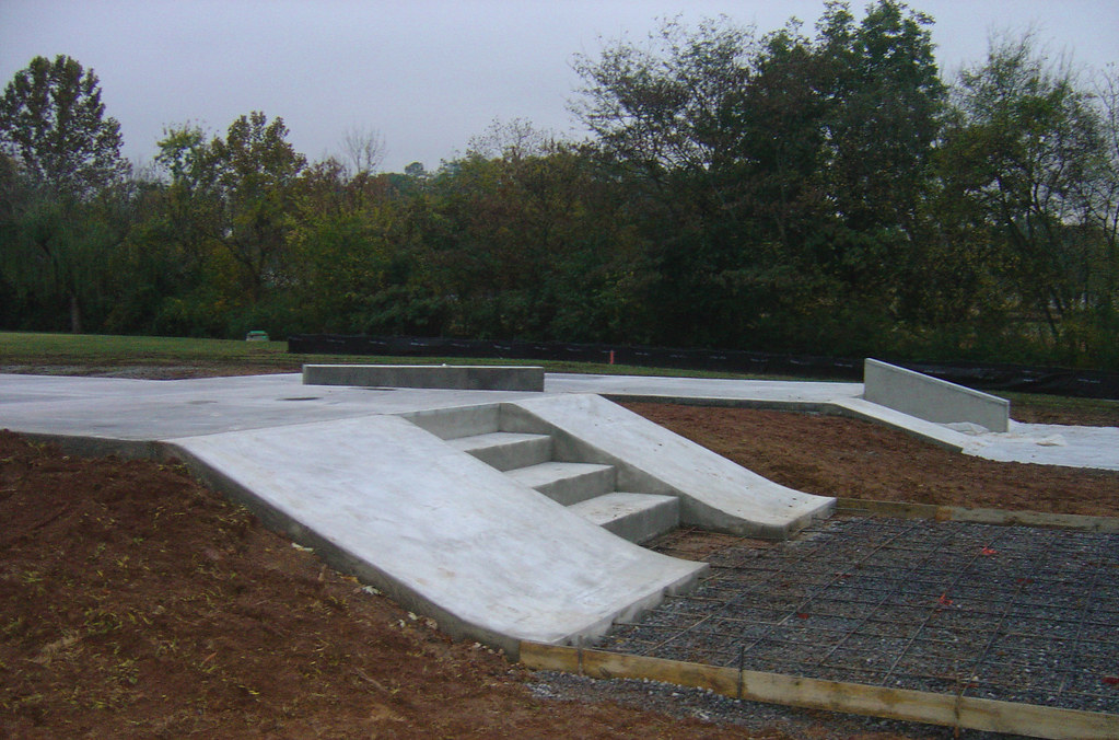 Dalton, Georgia Concrete Skatepark | Construction progress o… | Flickr