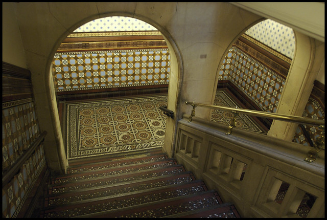 Central Library, stairs