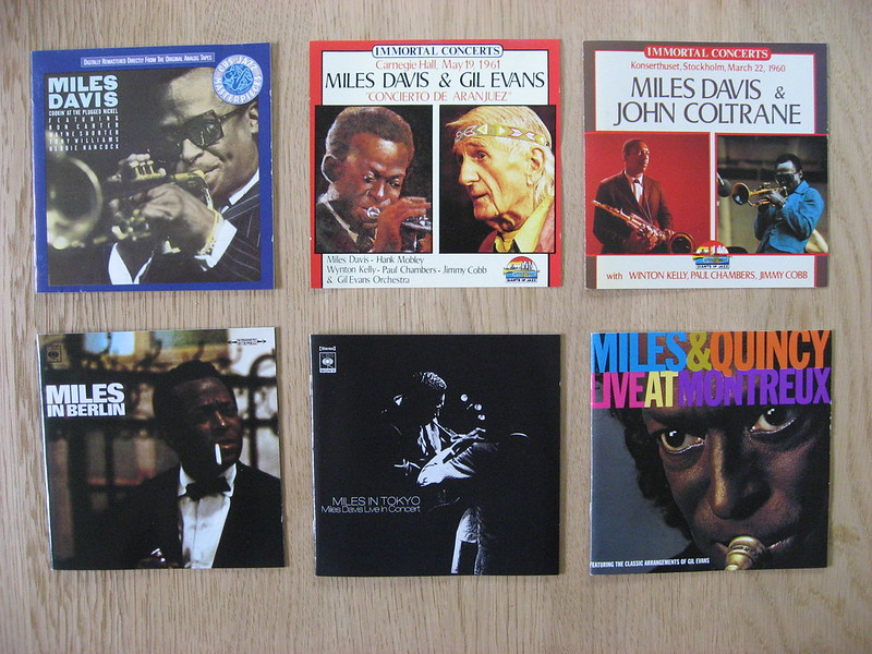 6 Miles Davis CDs (1)