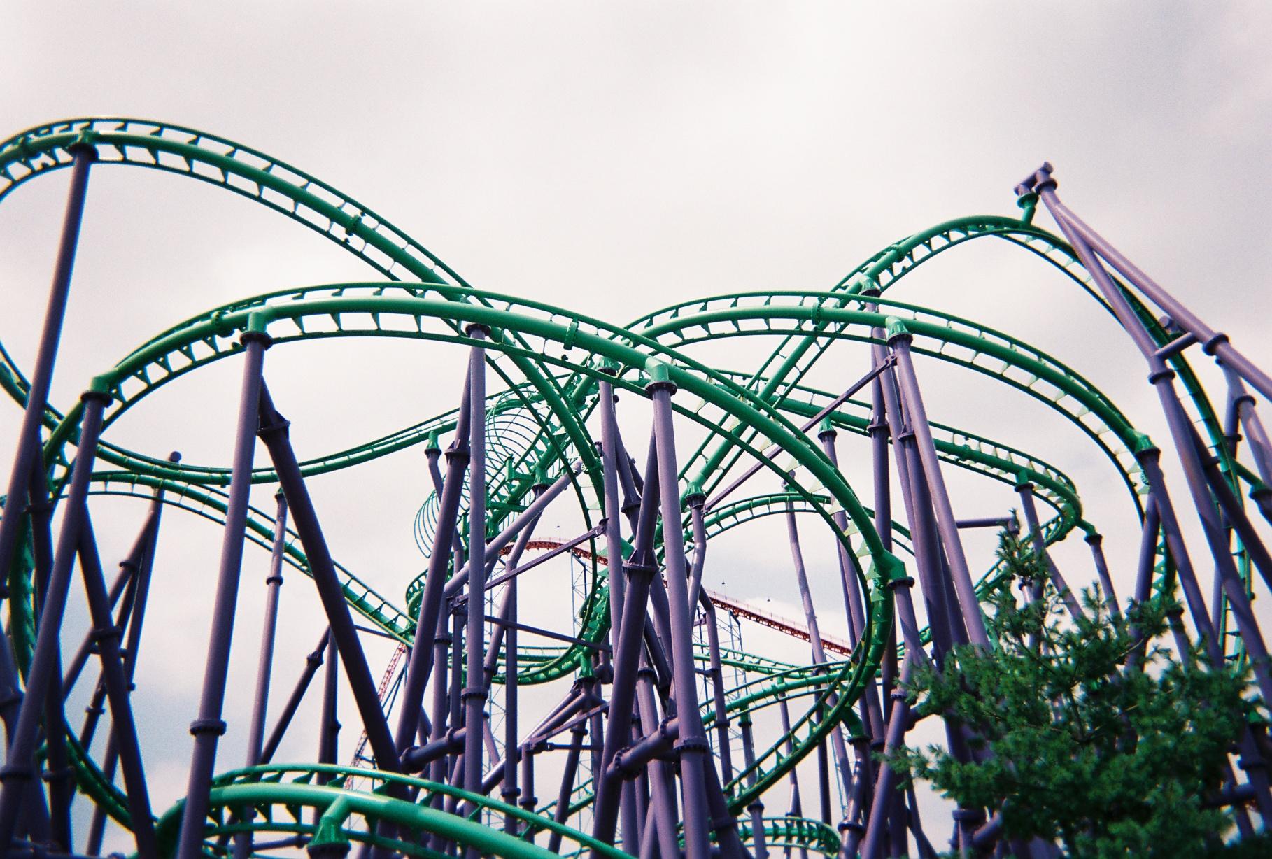 Six Flags America 2007