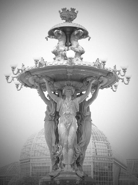 Bartholdi Fountain BW
