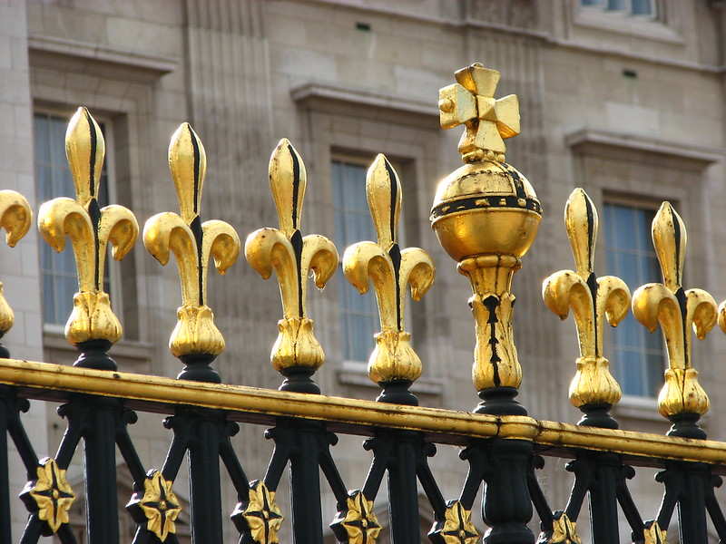 Gilded Fence