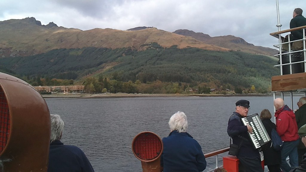PS Waverley in Arrochar