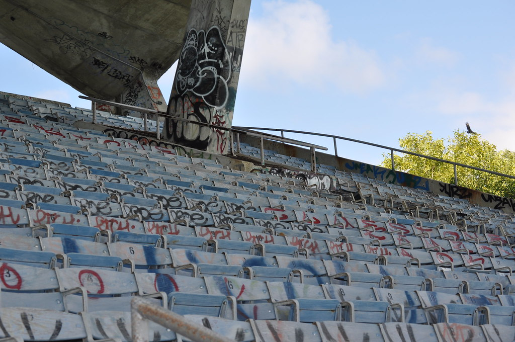 Miami Marine Stadium - In and Out