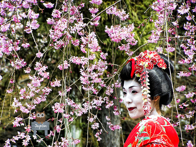 Geisha en Nara