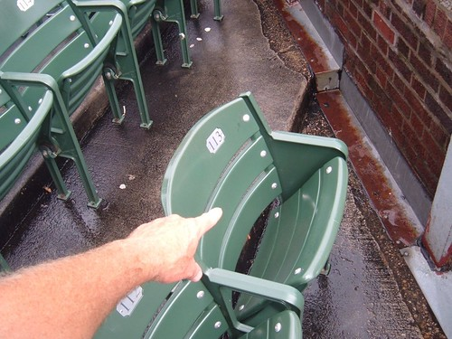 Steve Bartman Seat: #113 | by Halloween kook:  Baseball guy