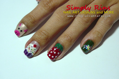 Nail Art Mash 01 | by Simply Rins