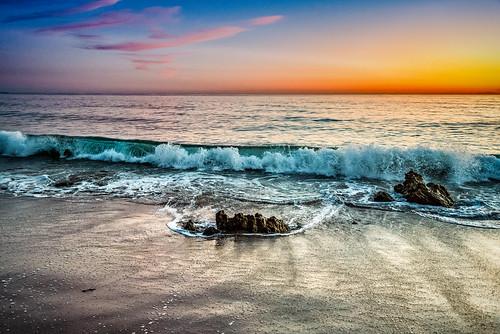 malibu sunset losangeles california beach beaches ocean sand sunrise waves westcoast coastline shoreline coast la cali